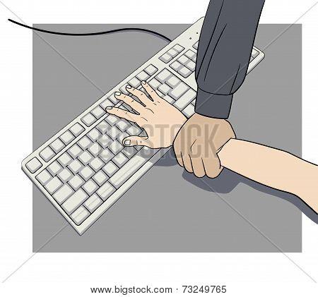 stop the hacker