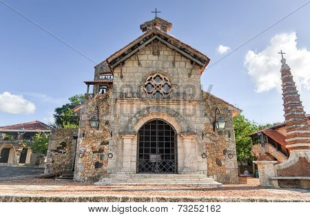 St. Stanislaus Church , Altos De Chavon, La Romana, Dominican Republic