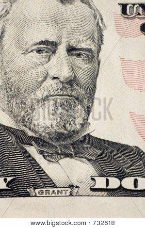 Grant on a $50 bill