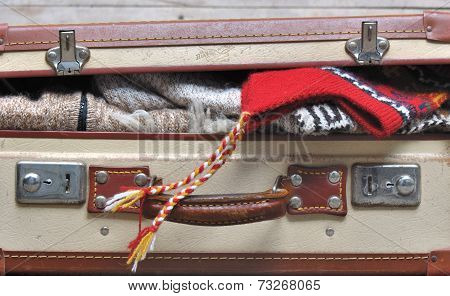 Suitcase Full Of Warm Clothes