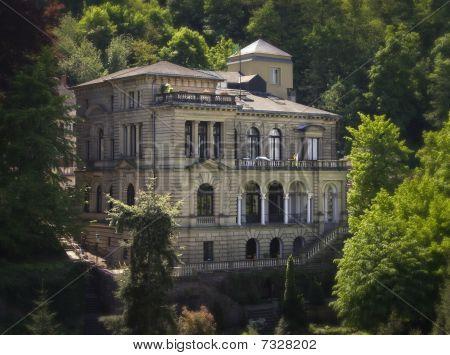 Hillside Mansion in Germany