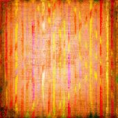 Grunge abstract background with bright stripes. backdrop poster