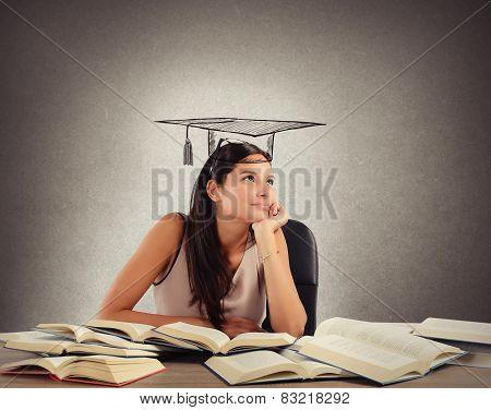 Student dreams graduation