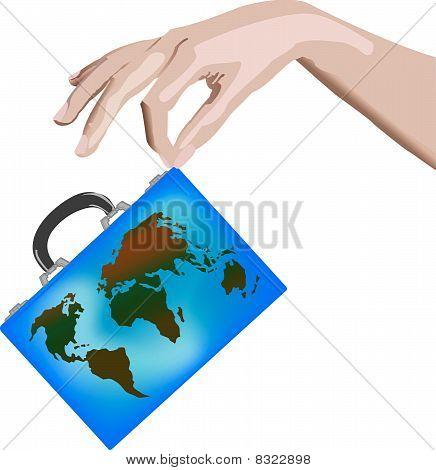 Suitcase Hand