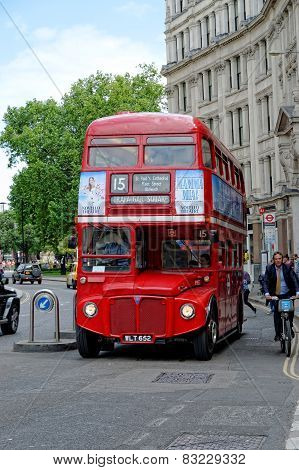Red Routemaster Double Decker Bus