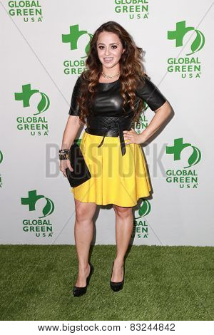 LOS ANGELES - FEB 18:  Marisol Doblado at the Global Green USA's 12th Annual Pre-Oscar Party at a Avalon on February 18, 2015 in Los Angeles, CA