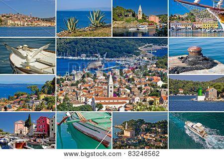 Island Of Losinj Tourist Destination Collage