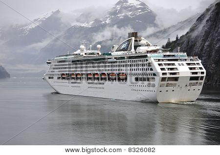Sea Princess In Glacier Bay