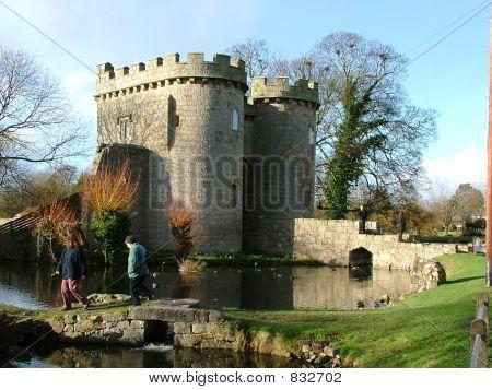Whittington castle, Shropshire, England.