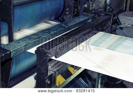 Magazine and newspaper production industry