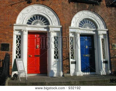 Traditional Edwardian Painted Doors