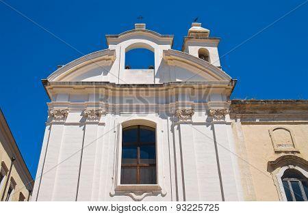 Church of St. Maria della Vittoria. Barletta. Puglia. Italy. poster