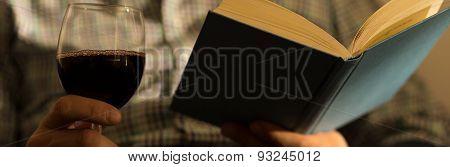 Books And Wine Are Addictive