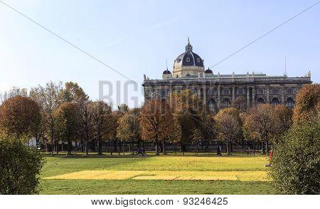 Naturhistorisches Museum In Vienna