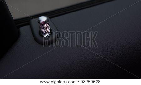 Closeup photo of car interiors