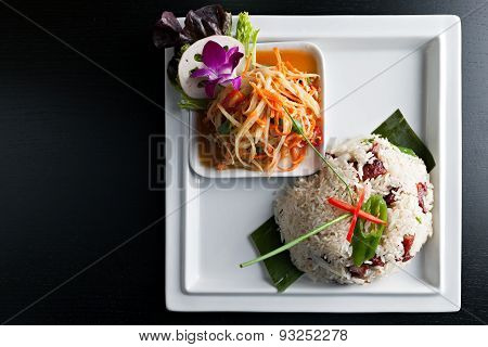 Thai Pork and Rice