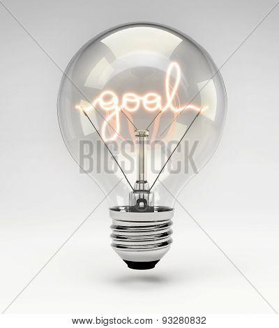 Conceptual Light Bulb (set) - Goal