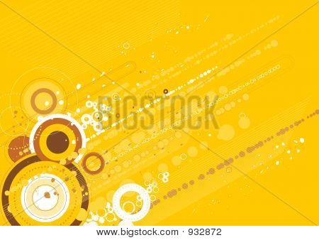 Modern Yellow Background