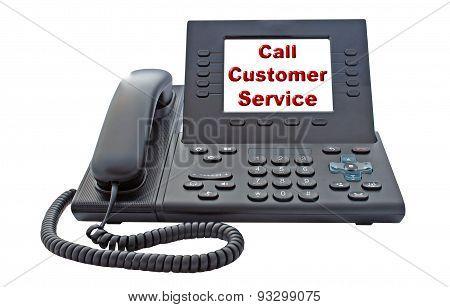 Customer Service Voip Phone