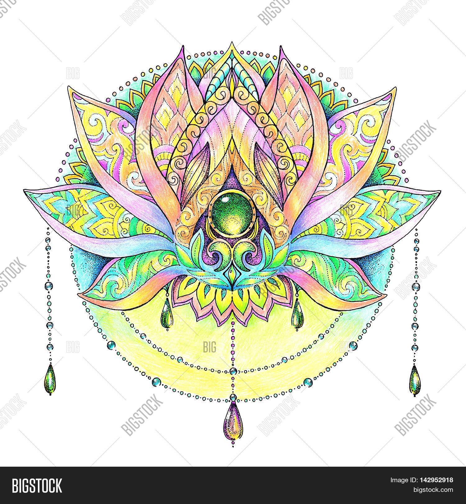 Mandala Pattern Image Photo Free Trial Bigstock