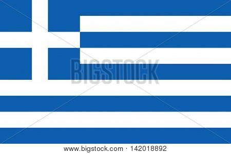 Flag of Greece vector, symbol, illustration, banner, greece, graphic, emblem