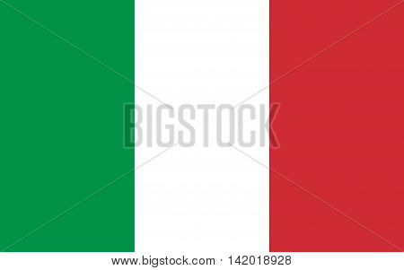 Flag of Italy symbol, illustration, spangled, color, patriotic, country, banner