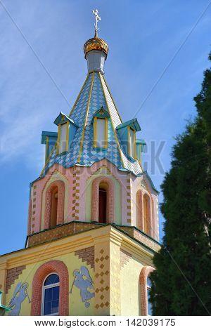 Paraskeva Church. Russian Eclecticism Architecture