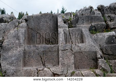 Incas throne