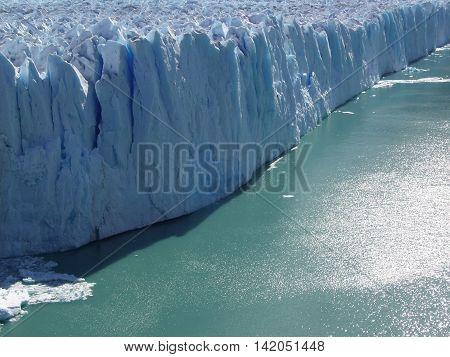 Glaciar Perito Moreno in the Calafate, Argentina