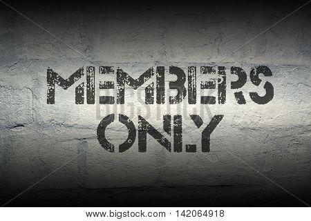 Members Only Gr