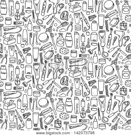 Personal Care Seamless Pattern