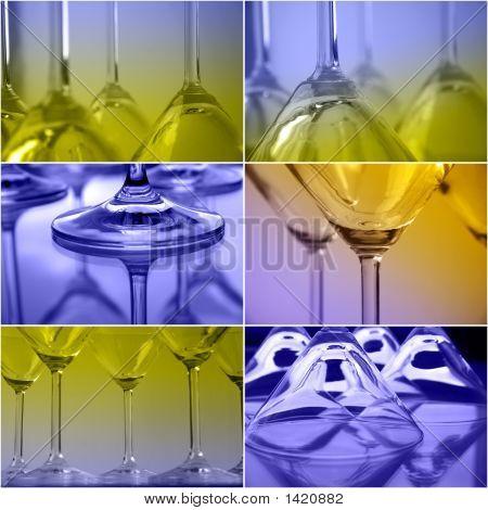 Colour Martini Collage