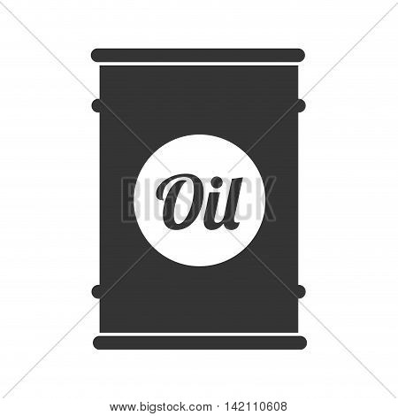 oil barrel can fuel tank drum gasoline industry storage vector graphic isolated and flat illustration