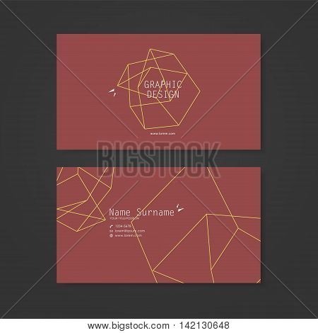 Simplicity Business Card Design