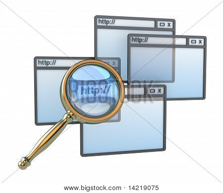 Web search concept