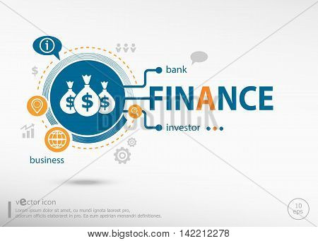 Finance Concept For Creative Process.