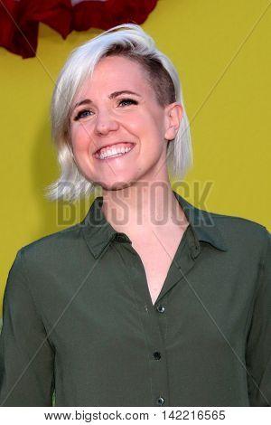 LOS ANGELES - AUG 9:  Hannah Hart at the