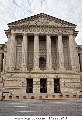 Andrew Mellon Auditorium In Washington Dc