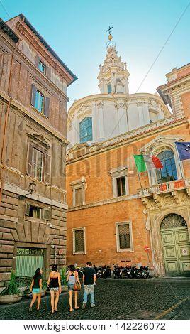 Carabinieri Art Squad In Rome In Italy