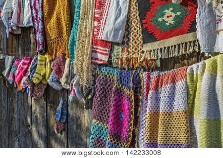 Traditional Hancraft Crocheted Fabrics