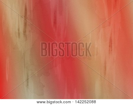 Orange Red blurred abstract background.