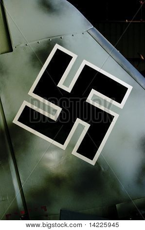 Nazi airplane