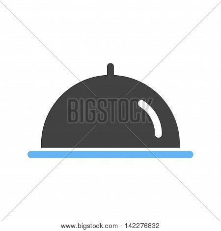 Food, platter, plate icon vector image. Can also be used for celebrations. Suitable for web apps, mobile apps and print media.