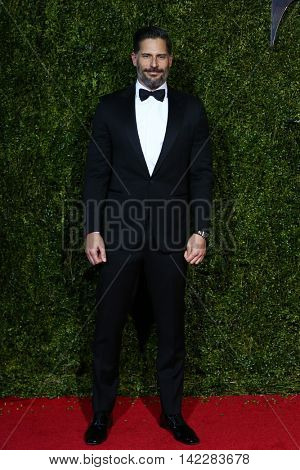 NEW YORK-JUN 7: Actor Joe Manganiello attends American Theatre Wing's 69th Annual Tony Awards at Radio City Music Hall on June 7, 2015 in New York City.