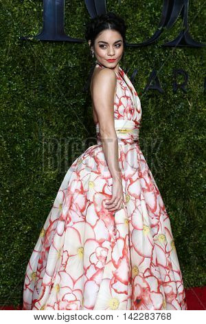 NEW YORK-JUN 7: Actress Vanessa Hudgens attends American Theatre Wing's 69th Annual Tony Awards at Radio City Music Hall on June 7, 2015 in New York City.