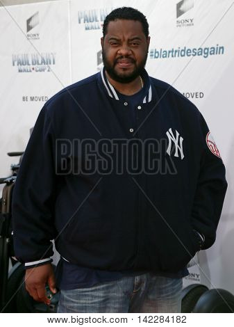 NEW YORK-APR 11: Actor Grizz Chapman attends the world premiere of