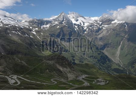 Grossglockner High Alpine Road, National Park Hohe Tauern, Austria