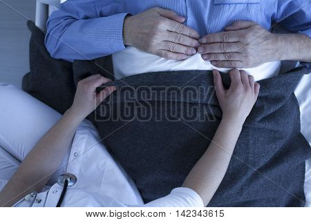 Nurse Assistance In Hospital