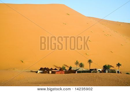 Tourist haven in the Sahara. Morocco