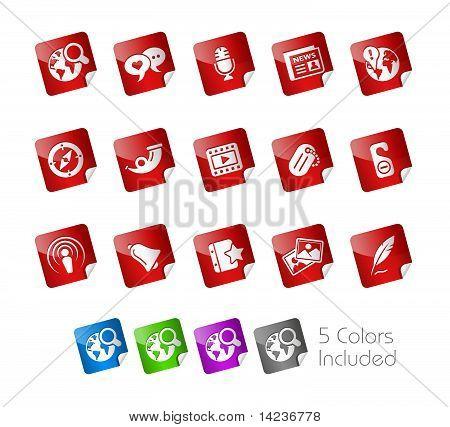 Social Media // Stickers Series